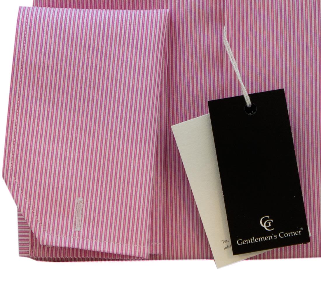 Duke Pink Shirt - Double Cuff