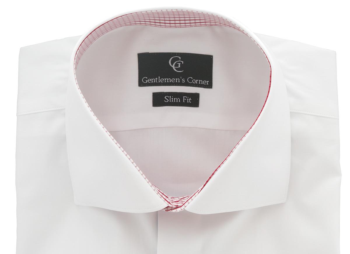 Roma White Shirt - Collar