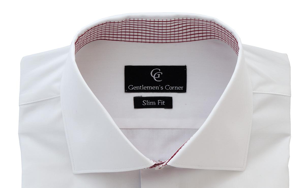 Aston White Shirt - Collar