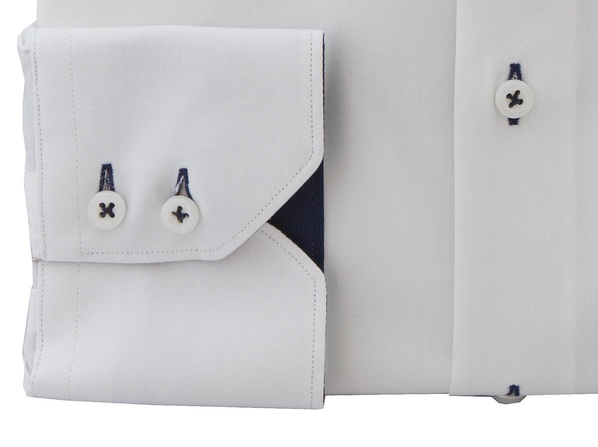Archer White Shirt - Button Cuff