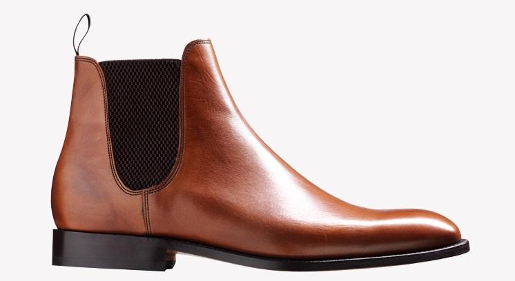 Barker Eskdale Boots - Walnut Calf