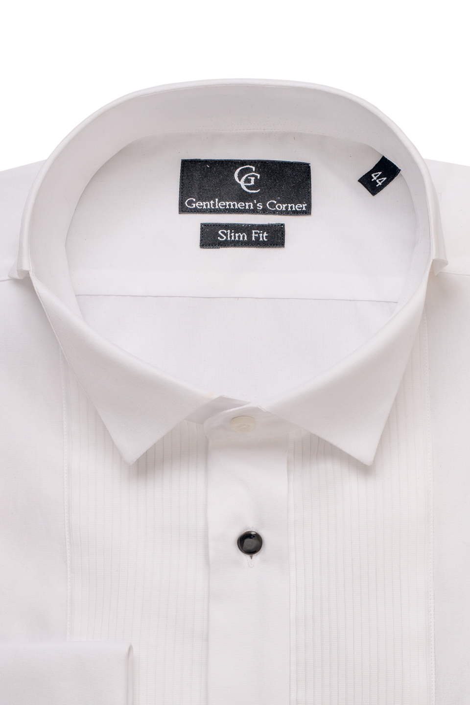 Webster White Dress Shirt - Collar