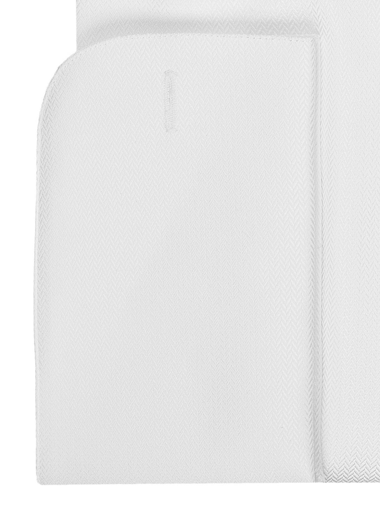 Bradley White Dress Shirt - Double Cuff