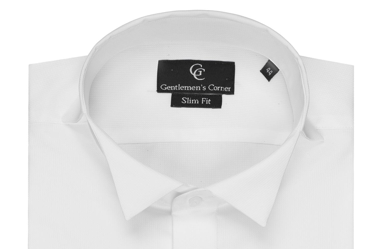 Chris White Dress Shirt - Wing Collar