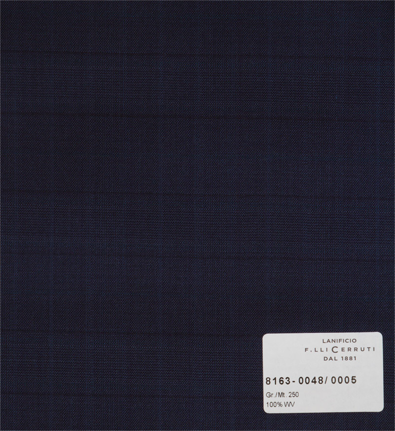 Nobility 150`s - dark blue checks