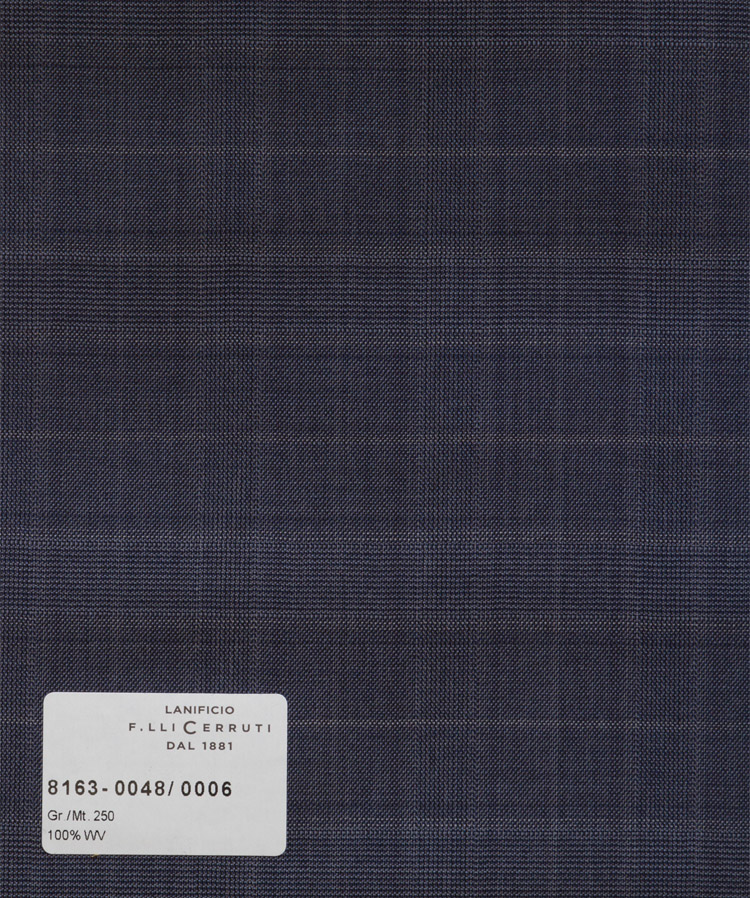 Nobility 150`s - grey-blue checks