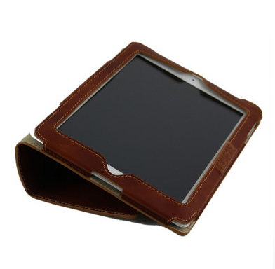 Leather iPad2 Case - open