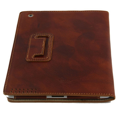 Leather iPad2 Case - back