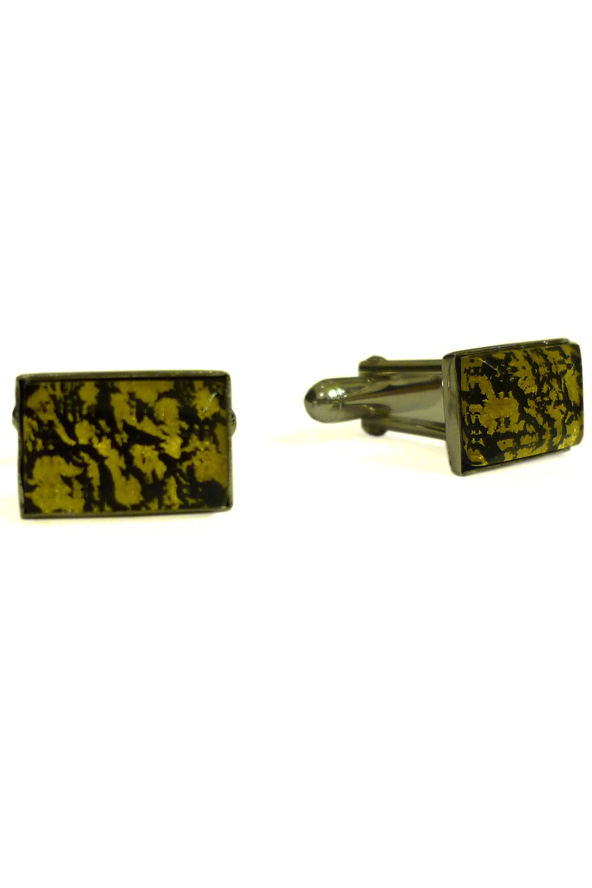 Rectangular Silver Cufflinks