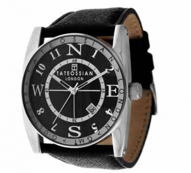 Ceas Tateossian Gulliver Sports - Black