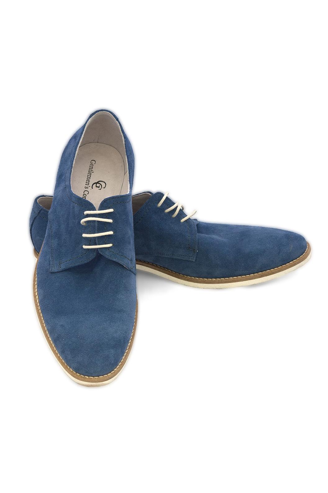 Pantofi Casual Gentlemen`s Corner - albastru Ming