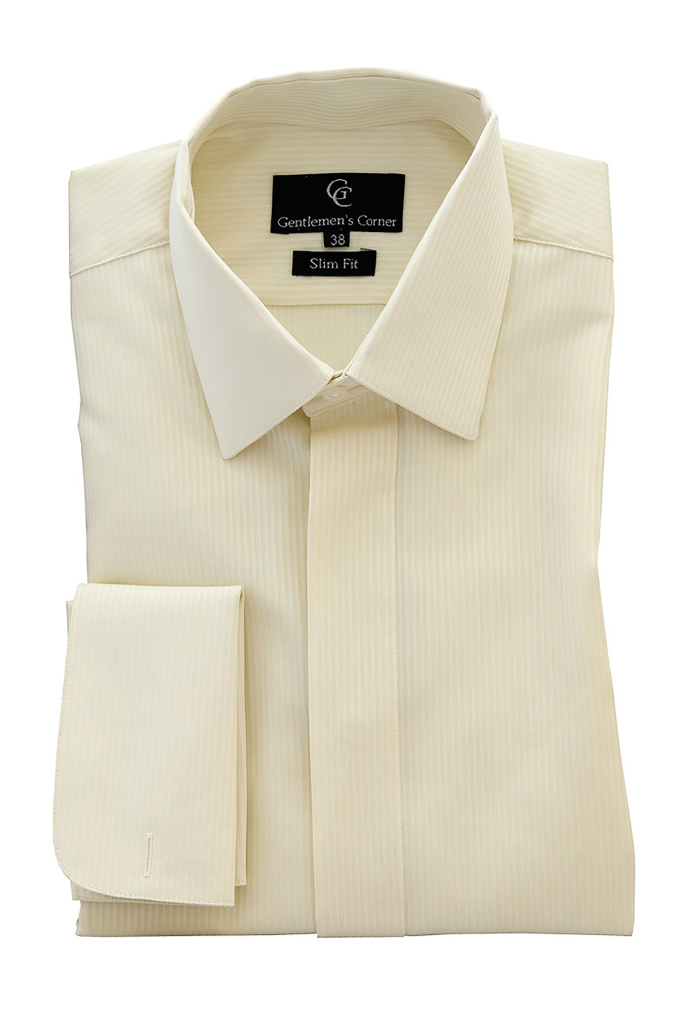 Ivory Dress Shirt Double Cuff Men 39 S Shirts