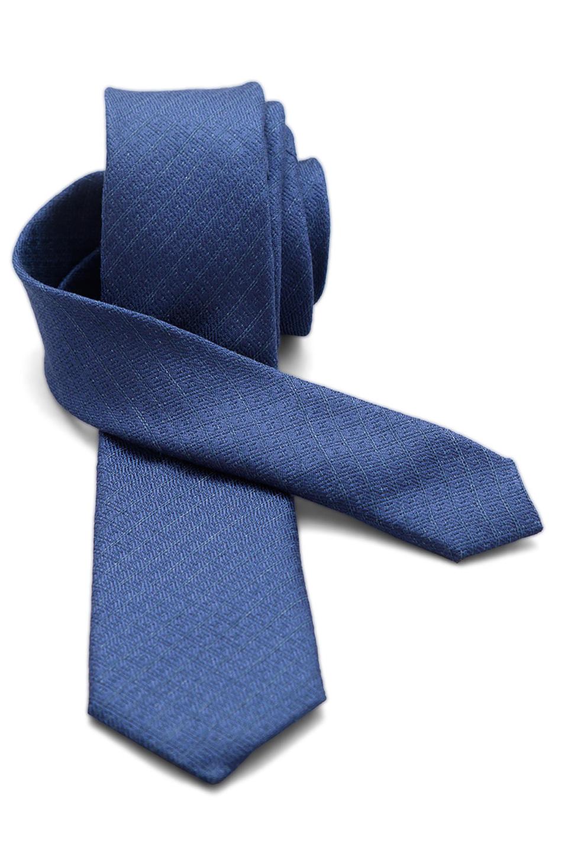 Cravata Valentino - Blue Linen