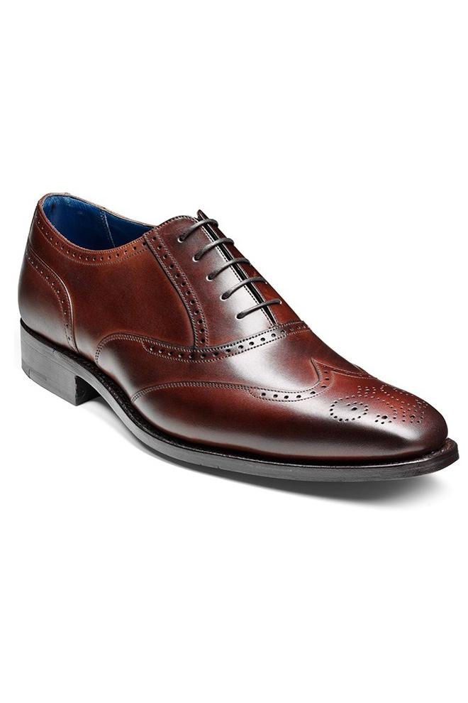 Pantofi Barker Johnny - Dark Brown Calf - NOU!