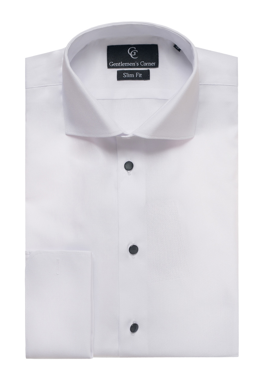 zante white dress shirt black buttons formal wear shirts