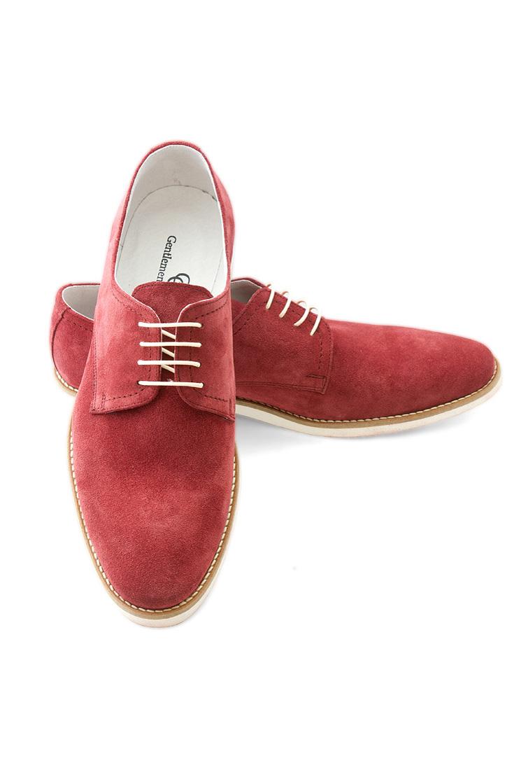 Pantofi Casual Gentlemen`s Corner - bordeaux