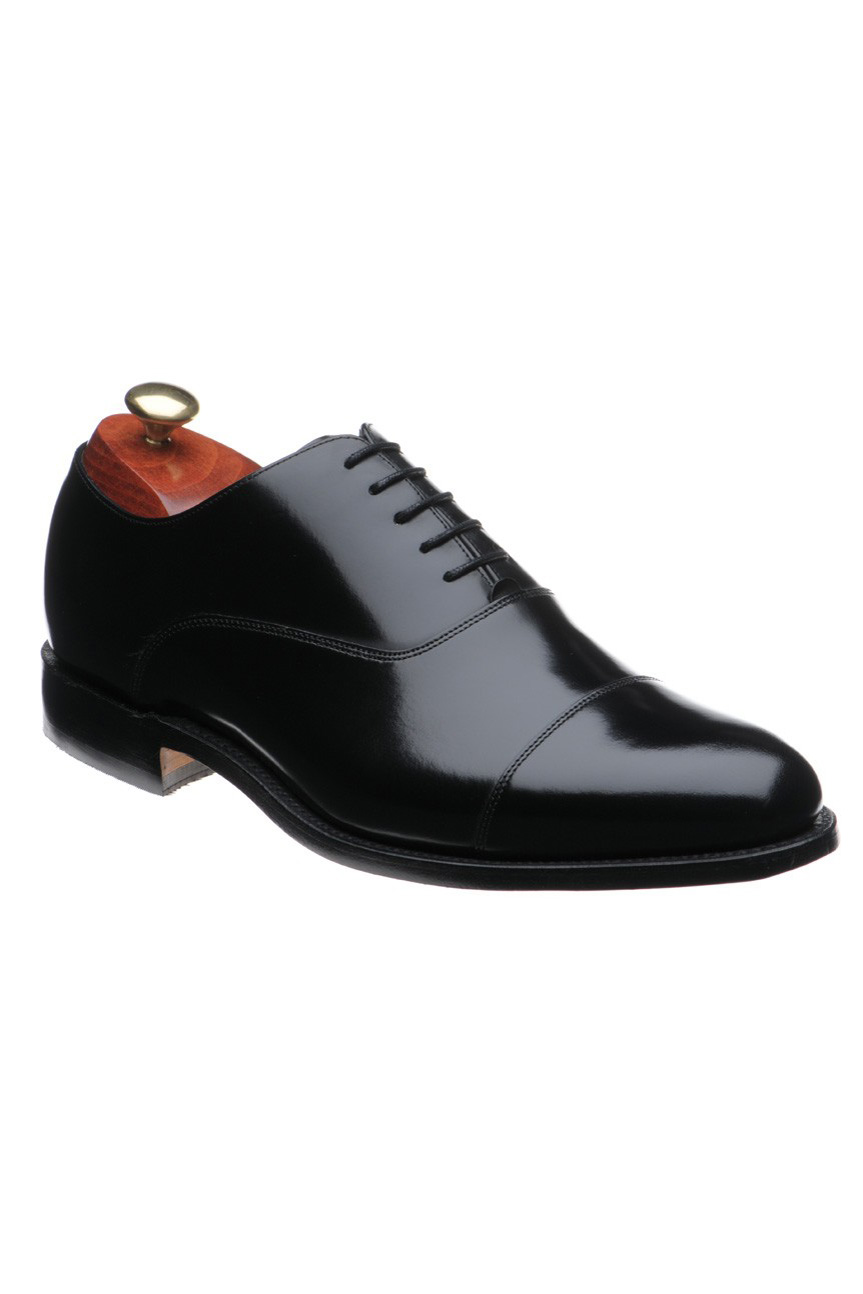 Pantofi Barker Winsford - Black Polish - NOU!