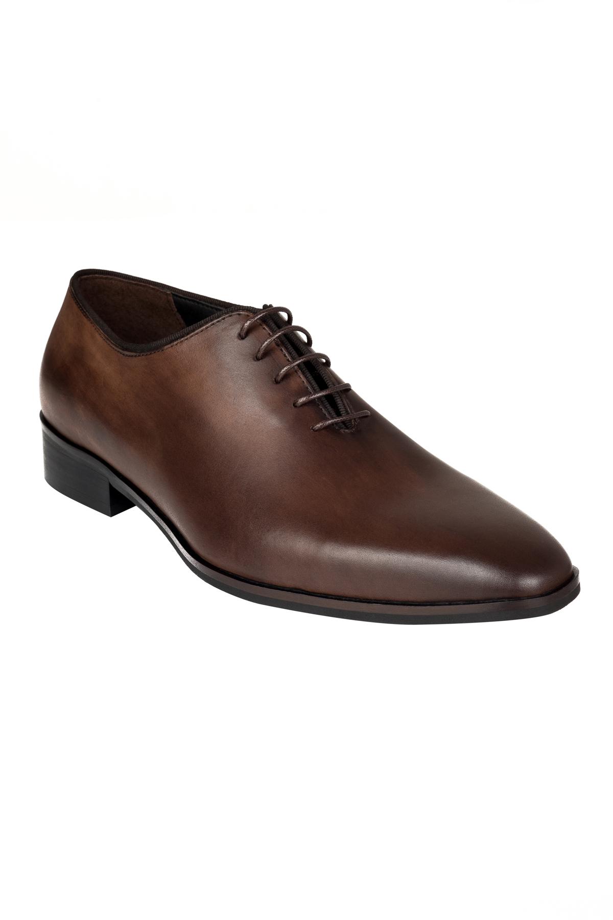 Pantofi Gentlemen`s Corner - maro inchis