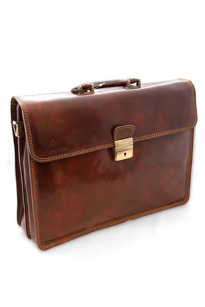 Leather Briefcase. Finding the right leather briefcase is essential for men and women in business. For traveling, keeping business and personal documents and safely storing laptops, tablets and other PDA devices, a briefcase is the best choice.