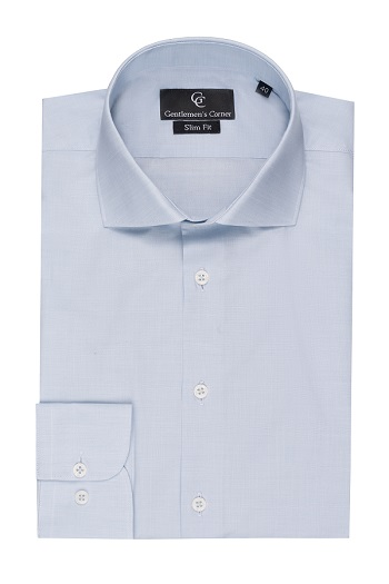 Light Blue Shirt - Button Cuff