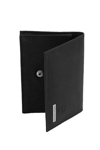 Sergio Tacchini Leather Business Card Holder