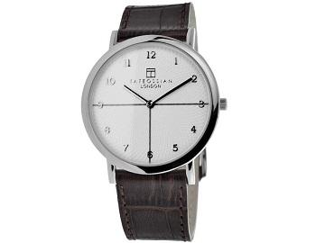 Tateossian ROTONDO GUILLOCHE Watch - Silver
