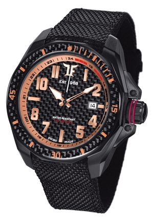 TF Est. Automatic Black PVD Watch - Rose Gold