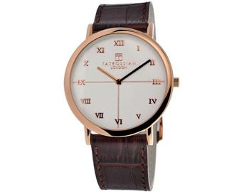 Tateossian ROTONDO GUILLOCHE Watch - Rose Gold