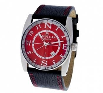 Tateossian Gulliver Sports Watch - Red