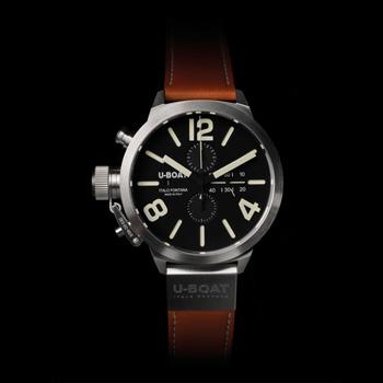 U-BOAT Classico 45 Steel Chronograph