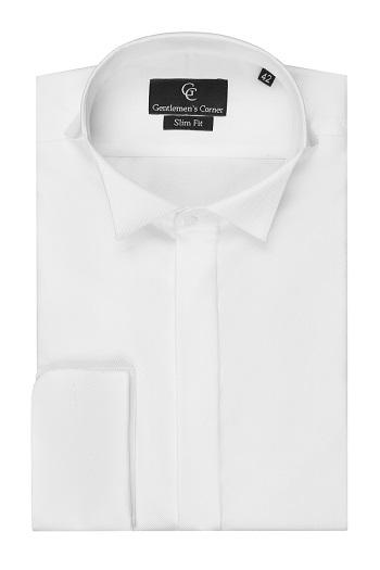 Duke White Dress Shirt - Wing Collar