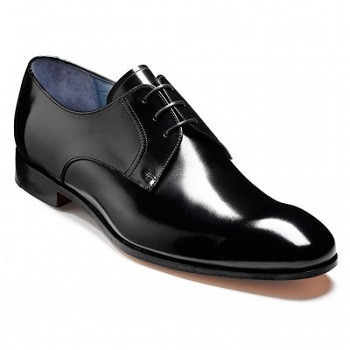 Barker Rutherford Shoes - Black Cobbler
