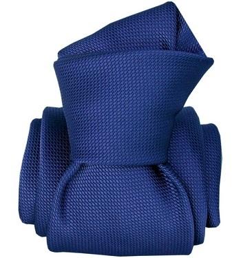 Gentlemen`s Corner Royal Blue Mogador Silk Tie