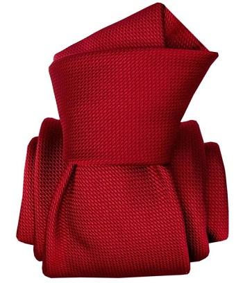 Gentlemen`s Corner Red Mogador Silk Tie