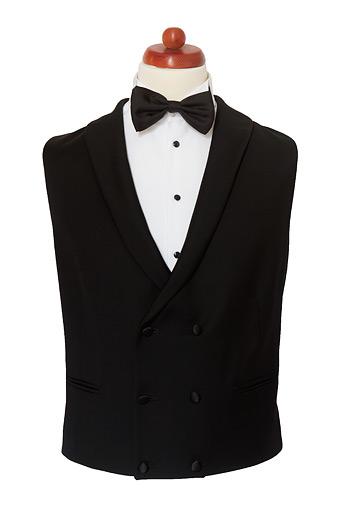 Gentlemen`s Corner Double Breasted Dinner Waistcoat - Made to Measure