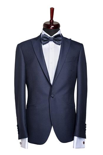 Gentlemen`s Corner Dark Blue Dinner Jacket - Clarence