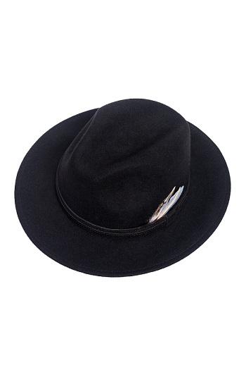 Balke Crushable Hat - Black