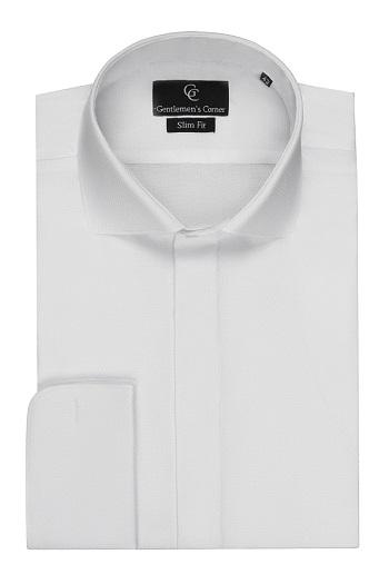 Barton White Dress Shirt