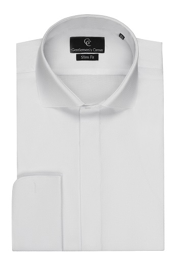 Barton White Dress Shirt