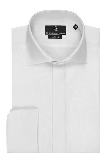 Clarence White Dress Shirt