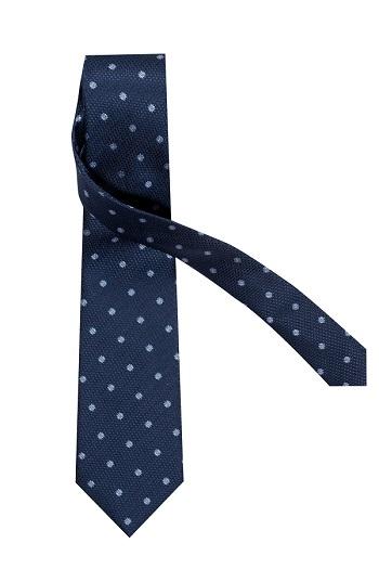 Gentlemen`s Corner Blue Silk Tie - Floral