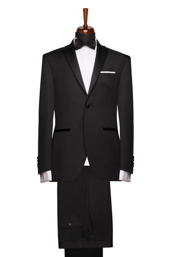 Gentlemen`s Corner Slim Fit Dinner Suit - Cardiff