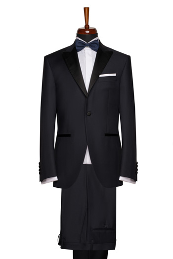 Gentlemen`s Corner Slim Fit Dinner Suit - Essex Navy