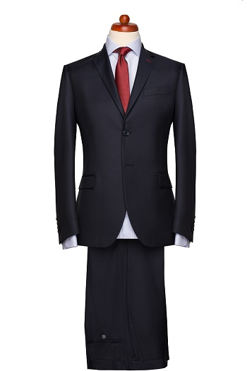 Gentlemen`s Corner Slim Fit Business Suit - Connoisseur Navy