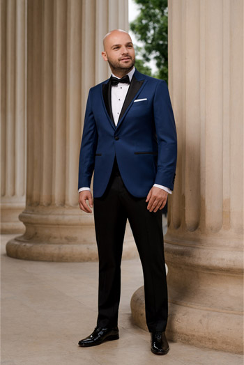 Gentlemen`s Corner Slim Fit Dinner Suit - Nobility