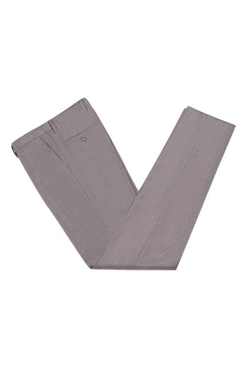 Gentlemen`s Corner Light Grey Slim Fit Trousers - Case