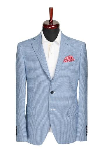 Gentlemen`s Corner Blue Slim Fit Jacket - Owen