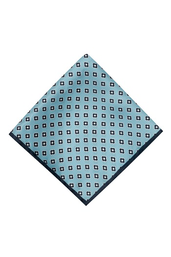 Gentlemen`s Corner Silk Pocket Square - Capua