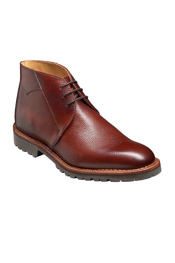 Barker Fortrose Boots - Cherry Grain