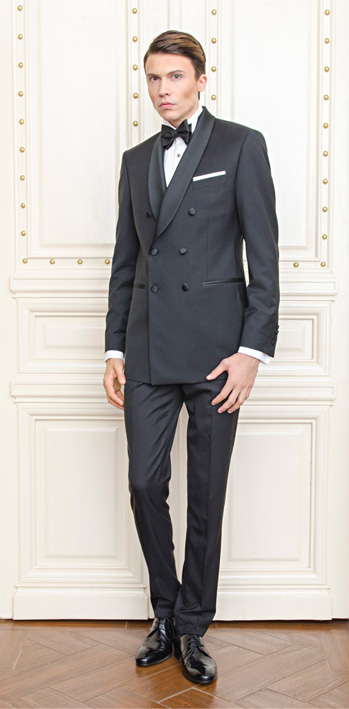 Gentlemen`s Corner Slim Fit Dinner Suit - Hampton